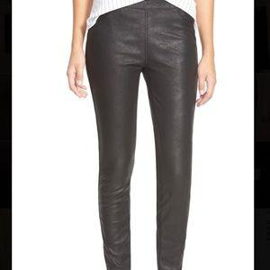 Blank NYC vegan leather legging. 30